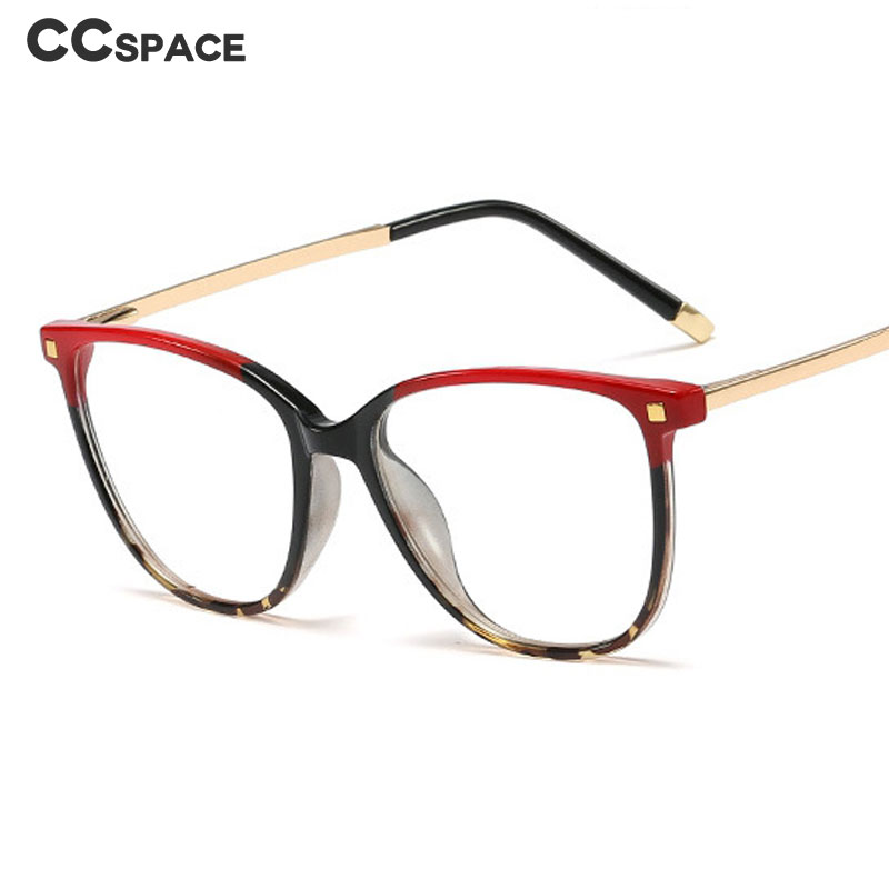 45623 Narrow Square Glasses Frames Women Rivet Styles Optical Fashion Computer Glasses