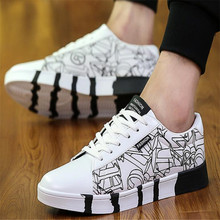 New men sneakers canvas comfortable lightweight breathable fashion wear-resistant non-slip design flat men's shoes недорого
