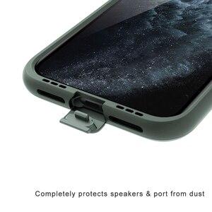Image 4 - Pour iPhone 11 étui glissière armure portefeuille fentes pour cartes housse de support pour iPhone 11 Pro Max affaires coque antichoc dur