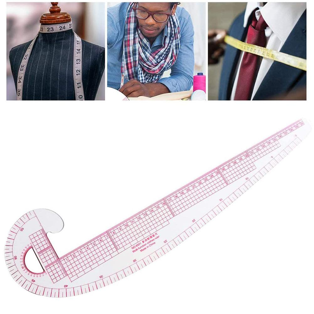 Bendable French Curve Ruler Tailor Sewing Dress Making Clothes Measuring Tool Multi-purpose curve ruler Arc ruler Armhole ruler