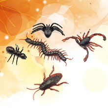 50PCS Fake Insects Realistic Bugs Simulation Small Animal for Party Favors and Decoration