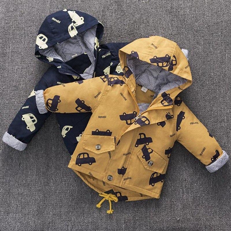 CROAL CHERIE Warm Winter  Jacket Coat Baby Boys Parka Cute Car Kids Jacket Hood Winter Children Jacket Fall Toddler Outerwear  (7)