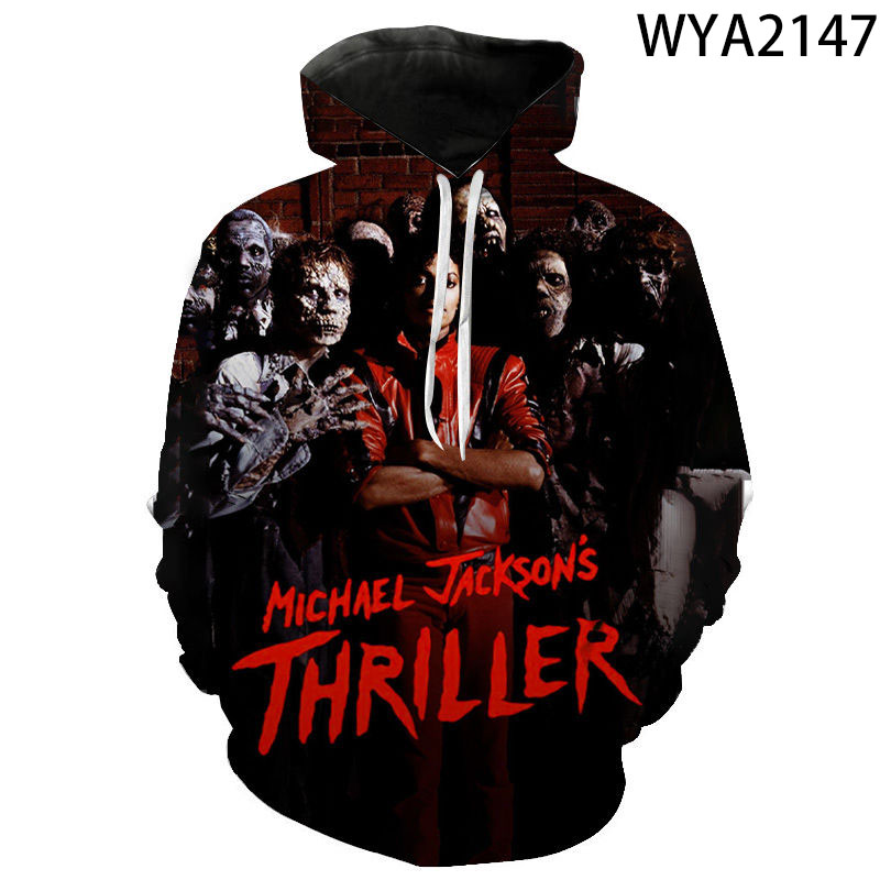 2020 Michael Jackson 3D Print Hoodies Men Women Children Sweatshirts Fashion Hip Hop Streetwear Harajuku Cool Pullover