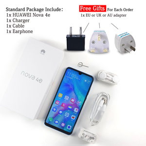 Image 5 - Global Rom Huawei P30 Lite Nova 4e Mobile Phone 6.15 inch 4GB/6GB 128GB Kirin 710 Octa Core Smartphone Android 9.0 32MP Camera