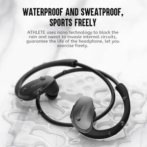 Image 4 - Dacom ספורטאי ספורט אלחוטי אוזניות IPX5 עמיד למים Bluetooth אוזניות ריצת אוזניות ראש אוזן טלפונים עם דיבורית מיקרופון