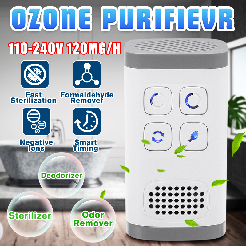 Air Purifier Ionizer Generator Filter Ozone Generator Purification Home Toilet Deodorizer Pet Deodorizer AC110-240v Dropshiping