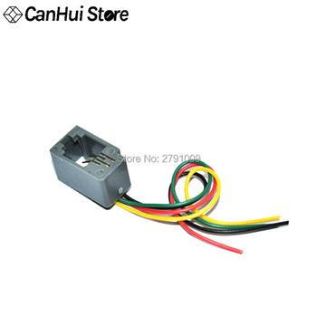 10 piezas 616E 4P4C RJ11 hembra adaptador de conector de teléfono 4 cables 8cm cabeza de cristal de cuatro núcleos 616E entrada bloque 4P nuevo