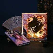 Набор ручных блокнотов с визуальным отпечатком альбом для ноутбука