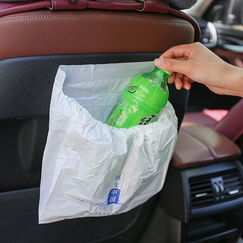 Car-Garbage-Bag Car-Accessories with Self-Adhesive 3pc/Pack