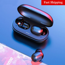 A6X TWS Bluetooth Earphone PK GT1 Wireless Headphones Touch Control HD Stereo In-ear Sport Gaming He