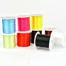 10 м/рулон 0,8 мм Кристальные эластичные бусины для плетения браслетов 16 цветов на выбор для изготовления браслетов