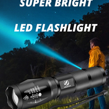 Led Flashlight Bicycle Ultra-Bright-Torch Shustar Waterproof 18650 Battery Zoomable Mode