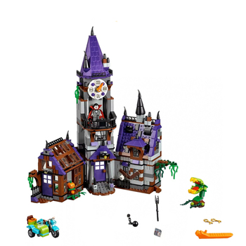 Compatible Friends Scoobying Doo Movies Mystery Mansion Set Ghost DIY Building Blocks Toys For Children Gifts