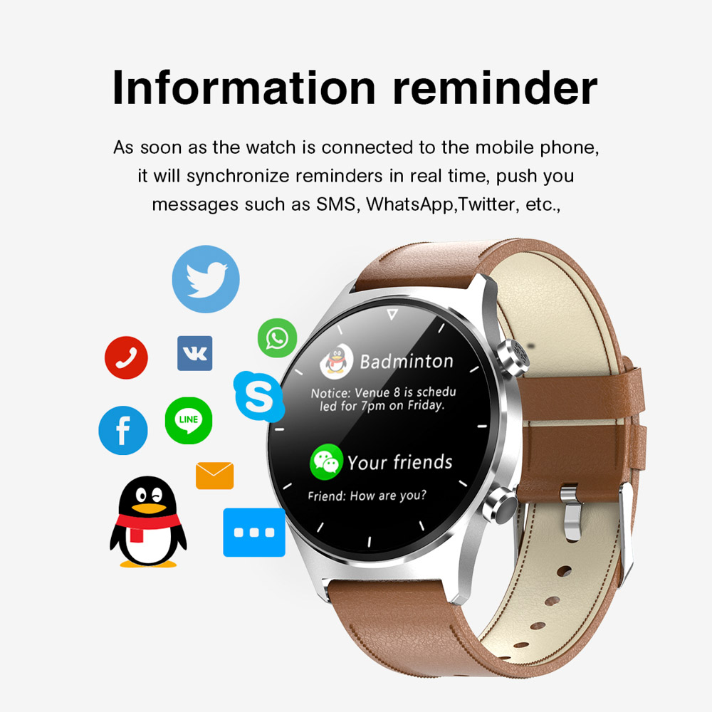 H483c9ca5a28b4f09a556b9003f619d53V E1-3 Smart Watch Men 1.28 inch Full Touch Screen IP68 Waterproof Bluetooth 5.0 Sports Fitness Tracker Smartwatch For Android IOS