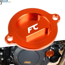 цена на Motorcycle Accessoires Motor CNC Aluminum Refit Engine Oil Filter Cover Cap Engine Tank Covers Oil Cap For Husqvarna FE FC FS FX