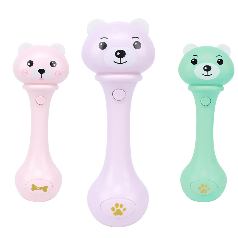 Manufacturers Wholesale Infant Bibi Stick Music Hand Rattle Toy Educational ENLIGHTEN Early Childhood Music Rattle Wholesale