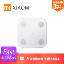 XIAOMI MIJIA Mi Body Composition Scale 2 Smart Fat Weight Scale Bathroom Digital Electronic LED screen Balance APP Data analysis(China)