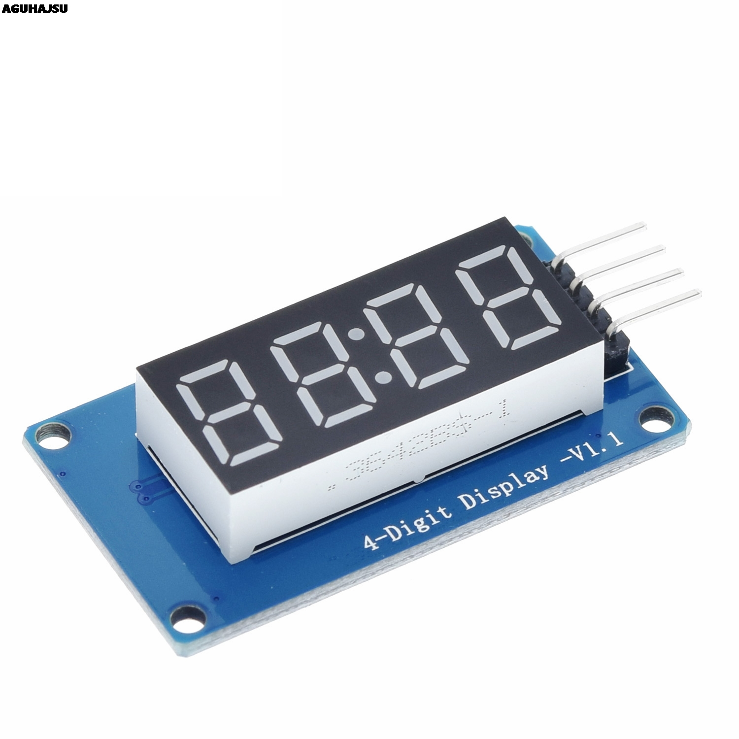 TM1637 LED Display Module For Arduino 7 Segment <font><b>4</b></font> Bits 0.36Inch Clock RED Anode Digital <font><b>Tube</b></font> Four Serial Driver Board Pack image