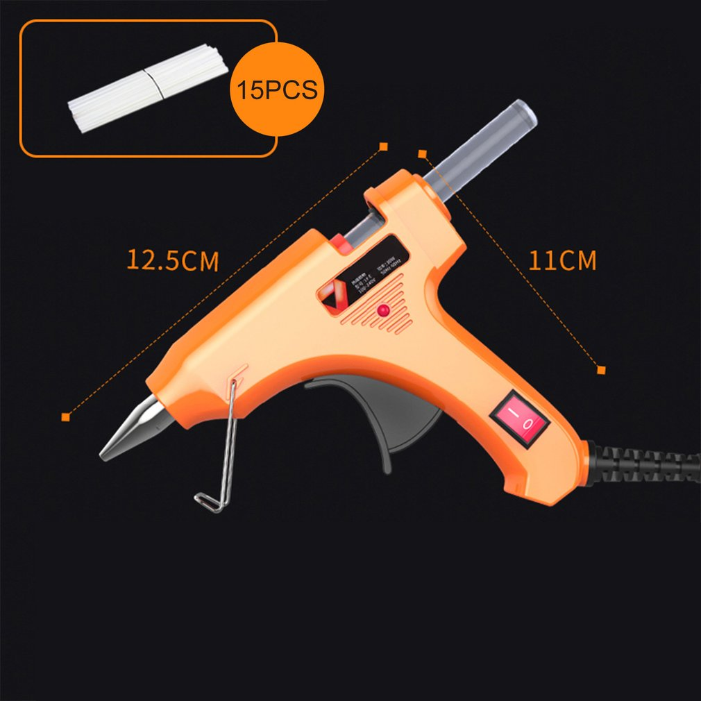 50W Hot Melt Glue Gun With Glue Sticks For DIY Handwork Toy Repair Tools Electric Heat Temperature Glue Guns Heat Guns