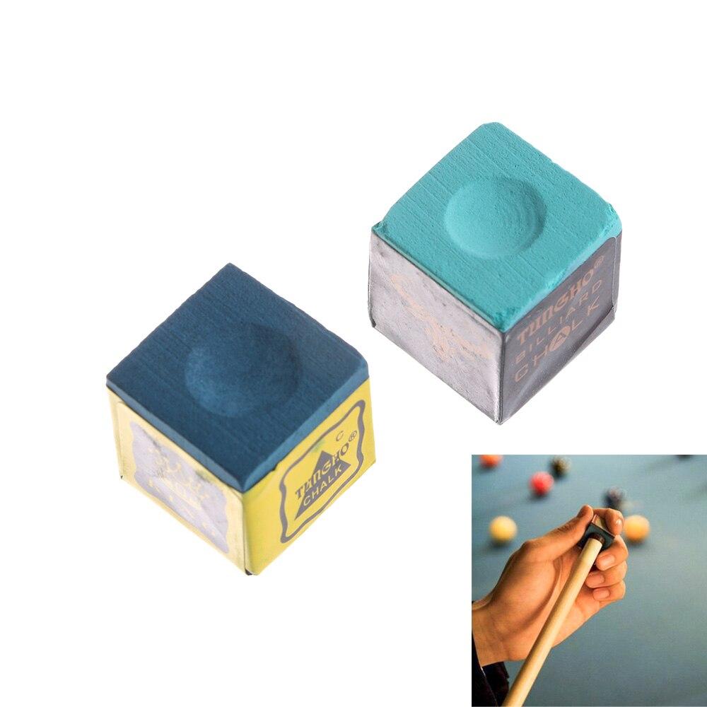 2pcs Durable Billiard Chalk Pool Cue Chalk Oil Dry Billiard No-slip Chalk Table Chalk Billiards Accessories With High Quality