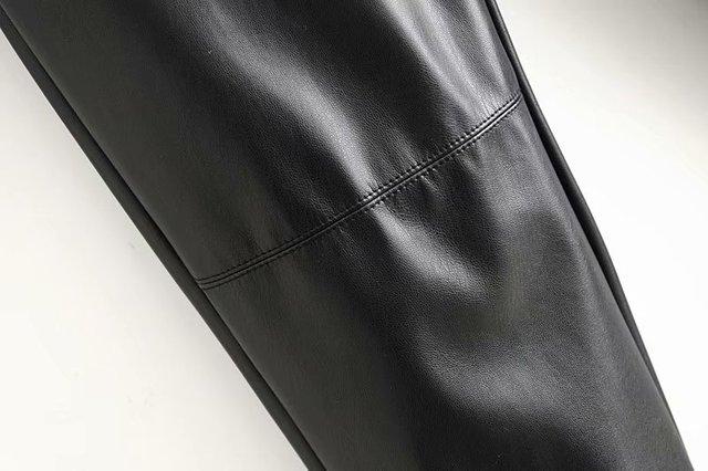 Winter Faux Leather Pants 5