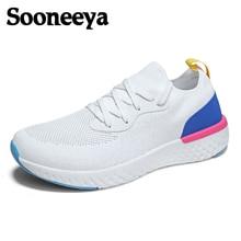 Sooneeya New Unisex Mixed Colors Casual Shoes Men Lovers Outdoor Walking