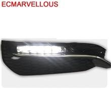 Сигнальные Автомобильные светодиодные Drl Cob дневные ходовые наружные фары передние противотуманные задние Автомобильные фары в сборе 16 17 для Honda Accord