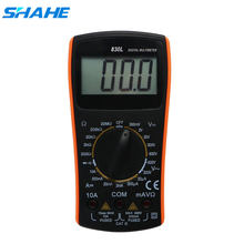 Shahe VC830L Digitale Multimeter tester Draagbare AC/DC Spanning Tester Meter 2000 graven manual range Groot Scherm(China)