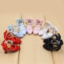 Blyth boneca de seda sapatos salto alto cinco cores diferentes podem ser escolhendo bonito neo 1/6 bjd