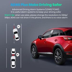 Image 5 - Junsun S590.P 24h park monitörü 4K WiFi GPS araba dvr Dash kamera 2160P gece görüş çift Lens araç kaydedici 1080P arka kamera