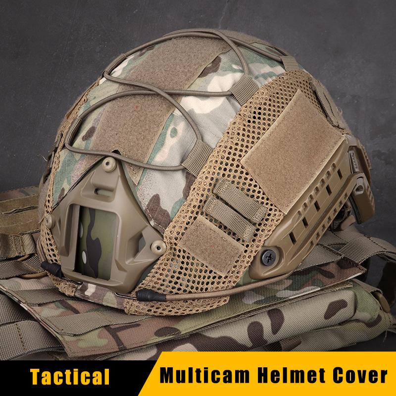 Chasse Paintball Airsoft Gear Tir Rapide Casque Cover Style 1 Casque De Combat Militaire Couverture Pour Ops-core Rapide Casque Balistique