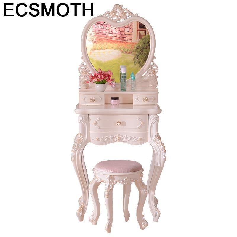 Cabinet Mesa Dormitorio Tocador De Maquillaje Vanity Slaapkamer Tablo Makeup Table Bedroom Furniture Korean Penteadeira Dresser