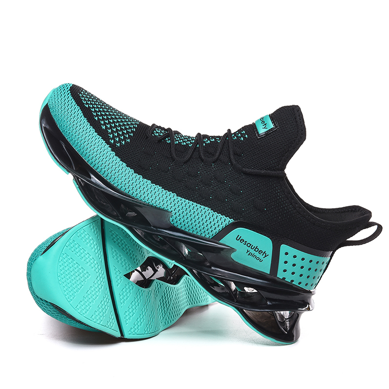 SENTA Men Running Shoes Blade Cushioning Sole Breathable Sports Shoes High-quality Athletic Training Jogging Sneakers Zapatillas