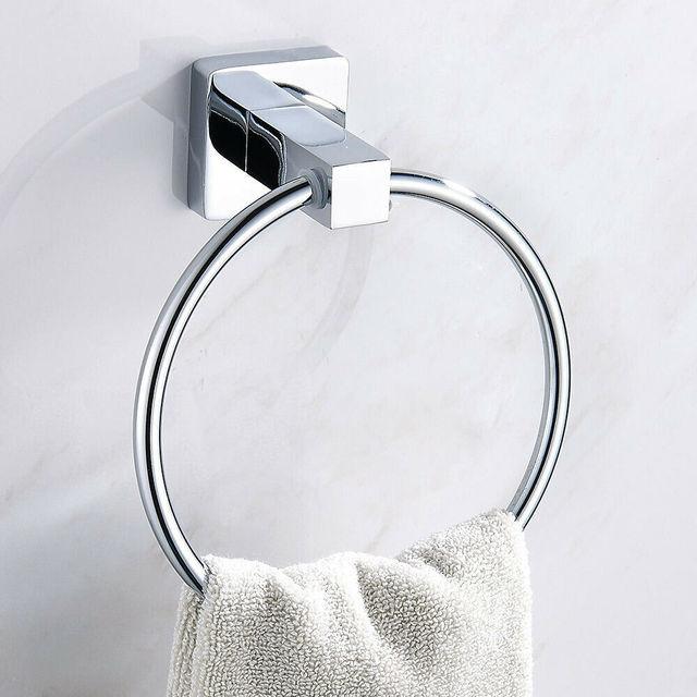 Фото настенное крепление из нержавеющей стали аксессуары для ванной