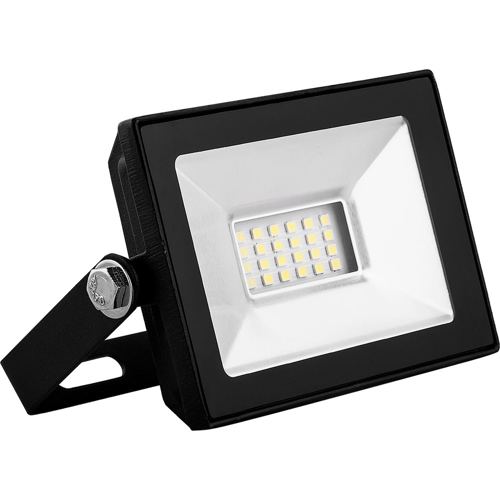 Saffit LED Floodlight Sfl90-10 IP65 10W 6400K Black 55067