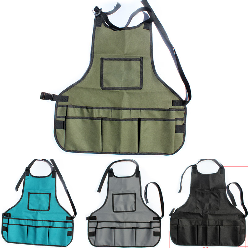 Durable Work Apron Oxford Cloth Handbag 4 Color Practical Repair Kits Tool Apron Portable Toolkit Hardware Hydropower