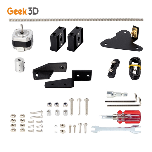 Dual Z Axis Lead Screw Upgrade Kits for Creality CR10 Ender3 Pro 3D Printer Accessories impressora 3d ender 3 pro dual z axis 3