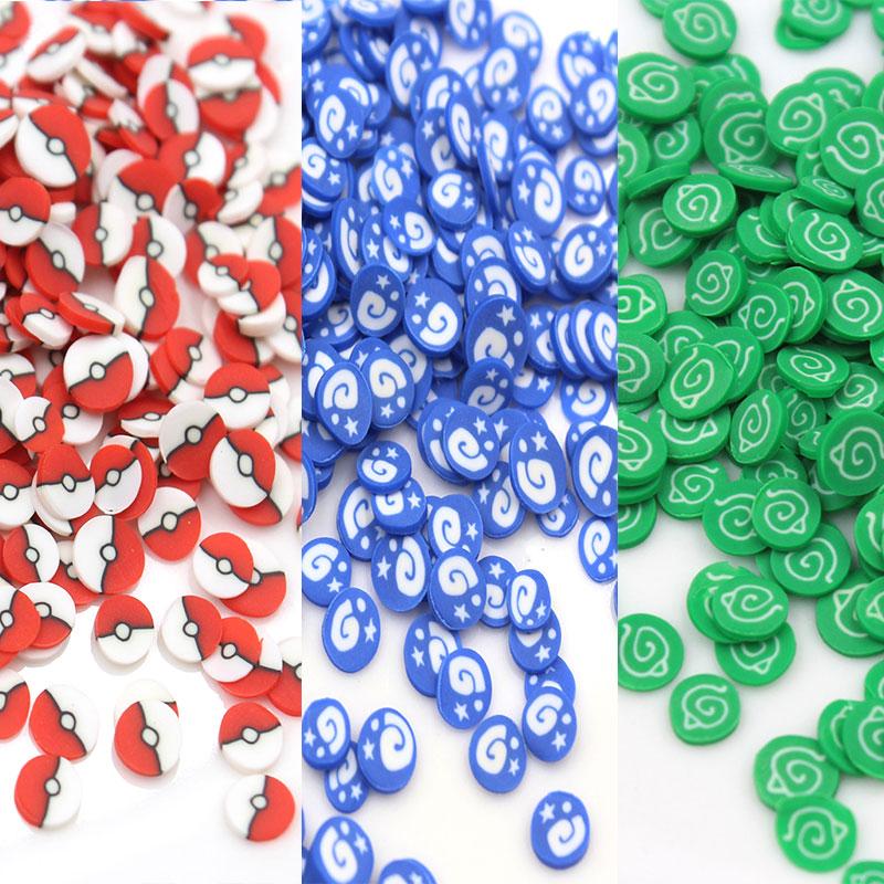 50 г/лот Знак марки полимерной глины фирменные ломтики мягкая керамика для ногтей декоративные поделки наполнитель аксессуары