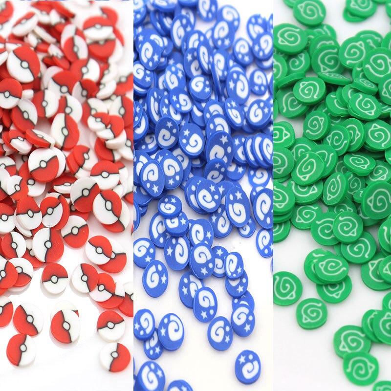 50 г/лот знак Марка полимерная мягкая глина брендовые ломтики глина для украшения ногтей, ремесла наполнитель аксессуары
