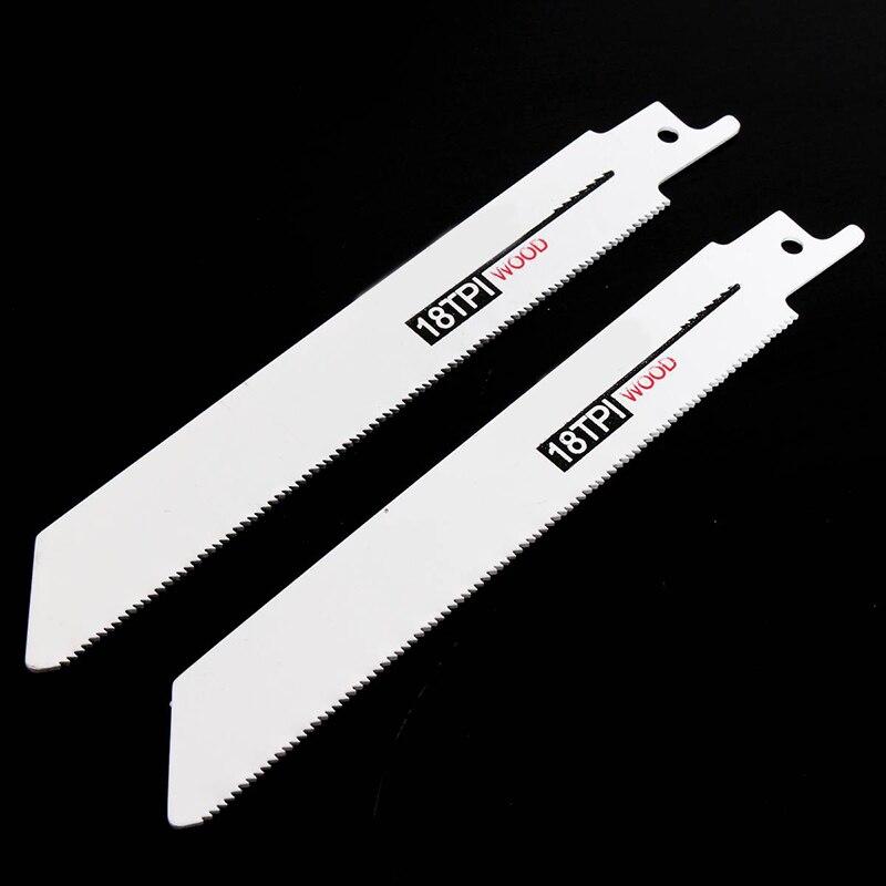 10pcs Multi Purpose Saw Cutter Set Jigsaw Blades Curve Metal Wood Reciprocating Cutting Tool Accessories