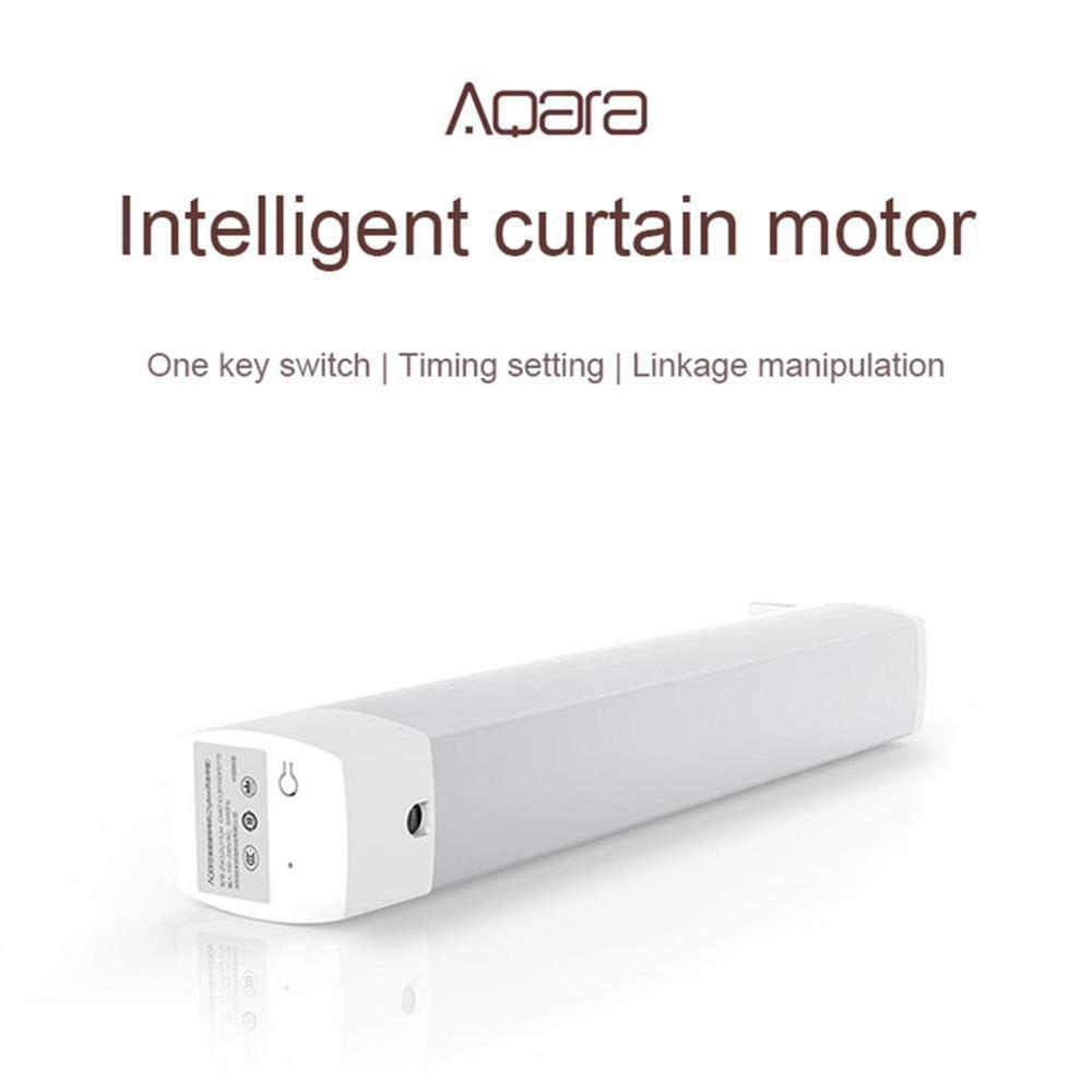 cheapest Aqara B1 Smart Curtain Motor Remote Control Wireless Smart Motorized Electric Timing APP Mihome smart home Ecosystem Product