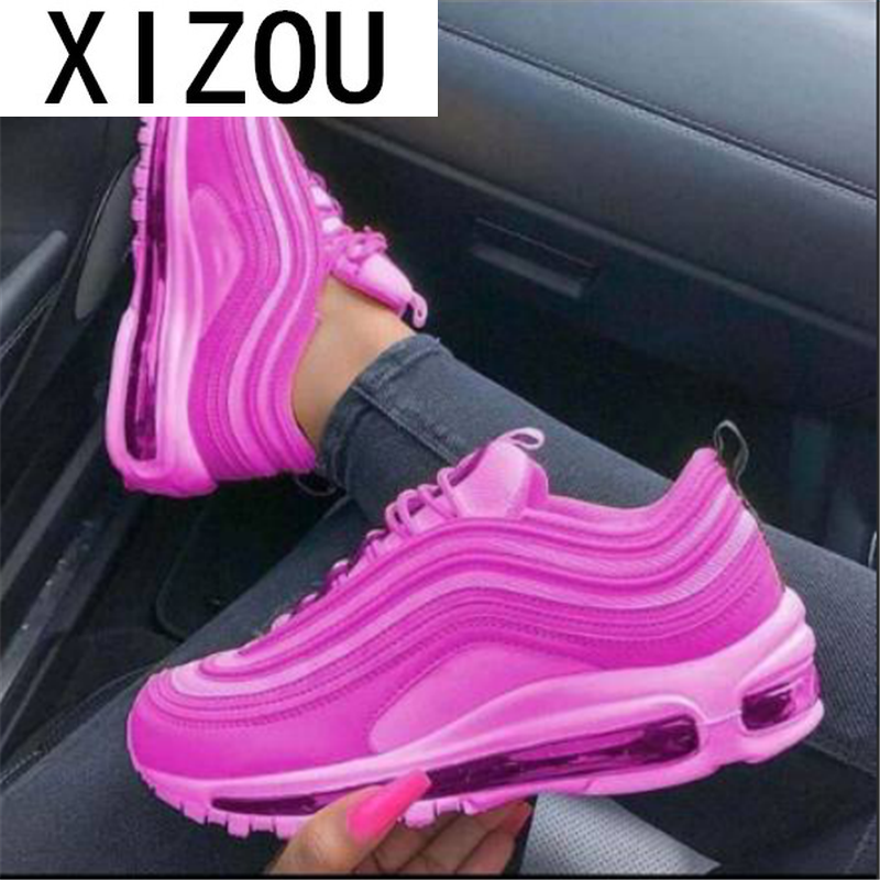 2020 New Autumn Women Sneakers Fashion Women Lace-up Vulcanized Shoes Platform Sneakers Casual Shoes for Woman Zapatillas Mujer