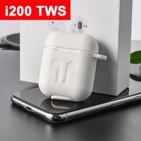 i200 tws Original 1:1 Pop up Window Aire 2 Wireless Bluetooth Headphone QI wireless charging Support PK i100 i80 i60 i30 tws