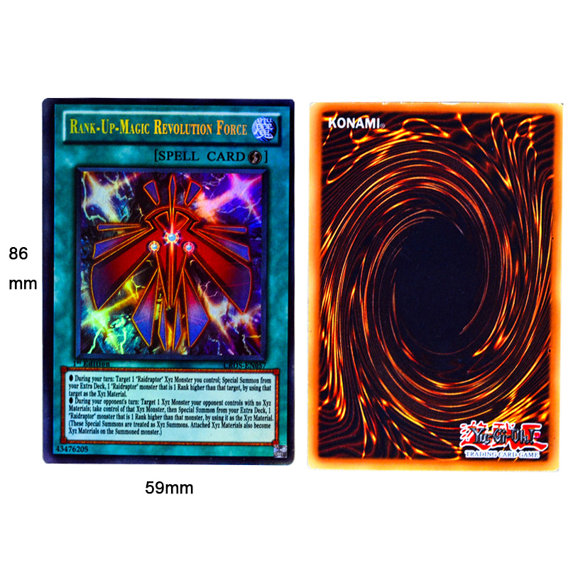 Japan Anime Yu Gi Oh Deck English Card 24 216 Fight Board Game Yugioh Duel Cards Table Toys Collections Children Christmas Gifts(China)