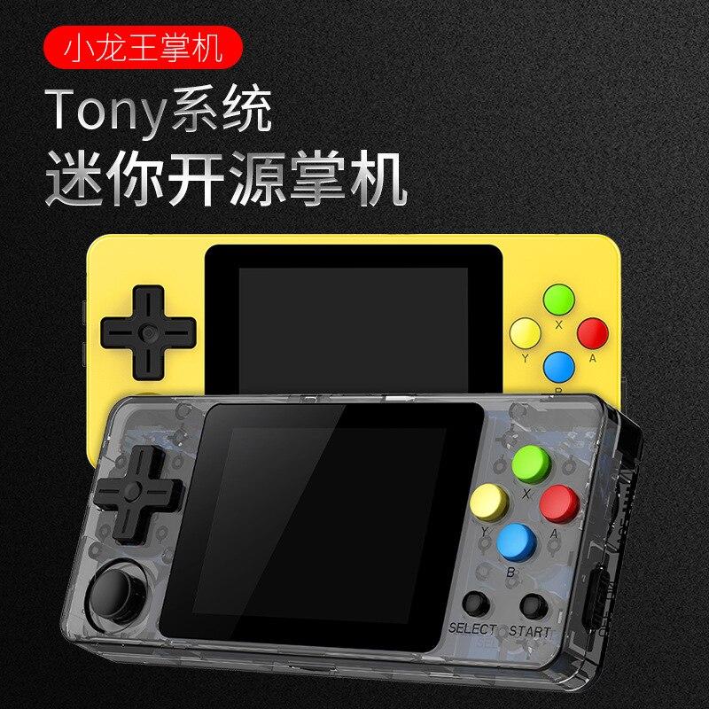 Little Chinese Dragon Mini Retro Game Rocker Handheld Game Console Arcade GBC gbasfc Nostalgic Game Console FC