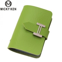 Fashion Credit Card Holder Men Women Travel Cards Wallet Pu Leather Buckle Business Id Card Tarjetero High Quality Porte Carte hot fashion credit card holder men women travel cards wallet pu leather buckle business id card holders sma66