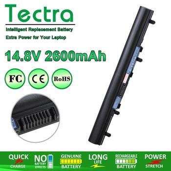 Nowy AL12A32 bateria do laptopa Acer Aspire V5 171 V5-431 V5-471 V5-531 V5-571 AL12A32 V5-171-9620 V5-431G V5-551-8401 V5-571PG tanie i dobre opinie Tectra CN (pochodzenie) Akumulator litowo polimerowy AL12A32 V5 4 Komórki 11 1V 2600mAh