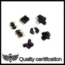 Convertidor MMCX de 0,78 MM, enchufe convertidor de auriculares de 0,78mm a mmcx a qdc JH EXK ie8 HD650 MH334