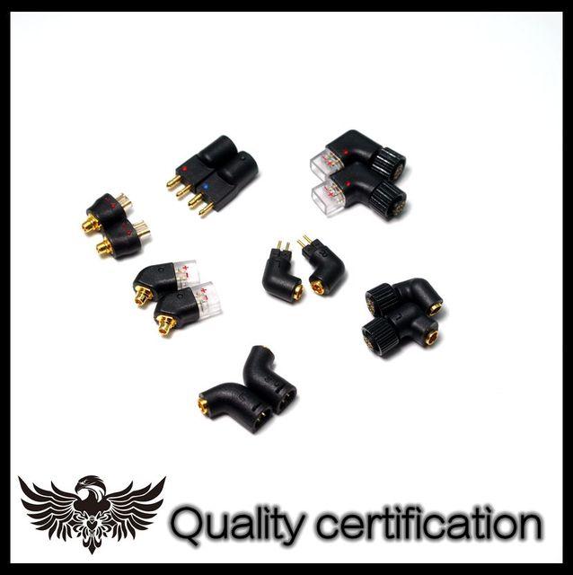Mmcx Converter 0.78Mm Headset Converter Plug 0.78Mm Naar Mmcx Mmcx Naar Qdc Jh Exk Ie8 HD650 MH334