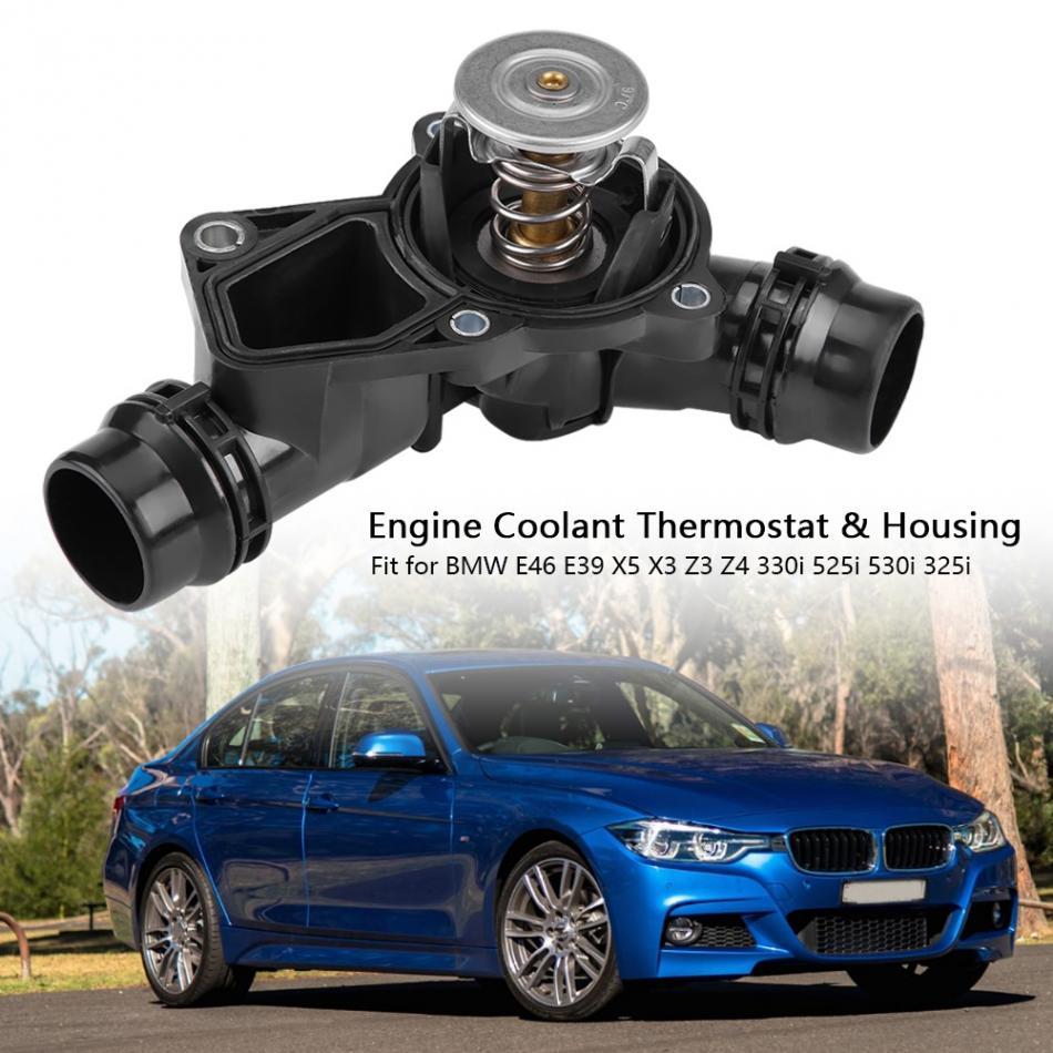 Engine Coolant Thermostat Sensor Housing Gasket for BMW E36  E39 E46 E60 E83